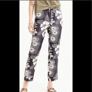 J CREW Silk pants 6L